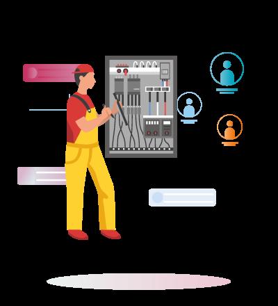 consultoria digital para trabajares de la electricidad