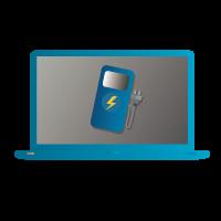 desarrollo web para electricistas