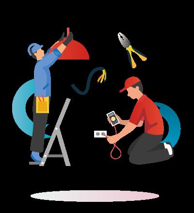 ilustraciones para electricos